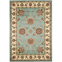 Safavieh Lyndhurst Traditional Tabriz Blue/ Ivory Rug - 3'3 x 5'3