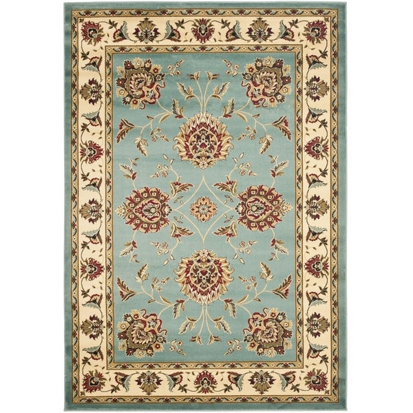 Safavieh Lyndhurst Traditional Tabriz Blue/ Ivory Rug (3'3 x 5'3)
