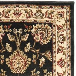 Safavieh Lyndhurst Traditional Tabriz Black/ Ivory Rug (2'3 x 16') - Thumbnail 1