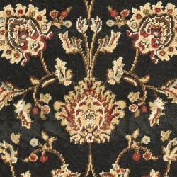 Safavieh Lyndhurst Traditional Tabriz Black/ Ivory Rug (2'3 x 16') - Thumbnail 2