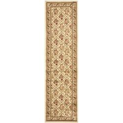 Safavieh Lyndhurst Traditional Floral Trellis Ivory Rug (2'3 x 8')