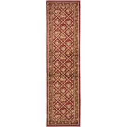 Safavieh Lyndhurst Traditional Floral Trellis Red Rug (2'3 x 12')