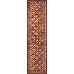 "Safavieh Lyndhurst Traditional Floral Trellis Red Rug - 2'3"" x 8' - Thumbnail 0"