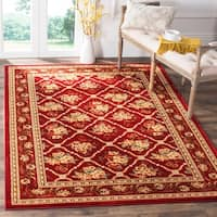 Safavieh Lyndhurst Traditional Floral Trellis Red Rug - 5'3 x 7'6