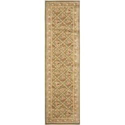 Safavieh Lyndhurst Floral Trellis Green Rug (2'3 x 12')