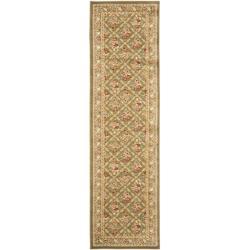 Safavieh Lyndhurst Traditional Floral Trellis Green Rug (2'3 x 8')