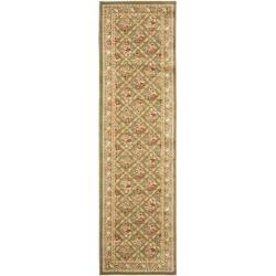 Traditional Oriental Keshan Sage Multicolor Runner 2 3 X