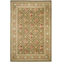 Windsor Home Floral Scroll Area Rug Green Amp Ivory 3 3 Quot X