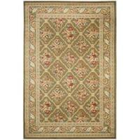 Safavieh Lyndhurst Traditional Floral Trellis Green Rug - 5'3 x 7'6
