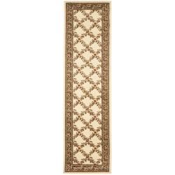 "Safavieh Lyndhurst Traditional Floral Trellis Ivory/ Brown Rug - 2'3"" x 8' - Thumbnail 0"