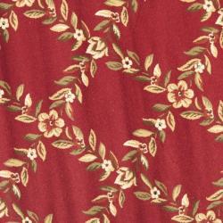 Safavieh Lyndhurst Traditional Floral Trellis Red/ Black Rug (5'3 Round) - Thumbnail 2