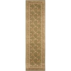 Safavieh Lyndhurst Traditional Floral Trellis Green Rug (2'3 x 16')