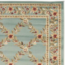 Safavieh Lyndhurst Traditional Floral Trellis Blue Rug (3'3 x 5'3) - Thumbnail 1