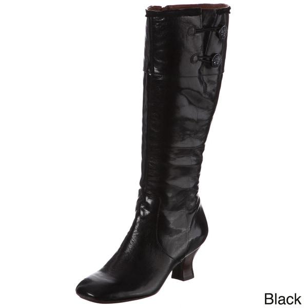 Naya Women's 'Dalia' Leather Knee-high Boots
