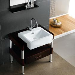 Vitreous China 21-inch Bathroom Sink - Thumbnail 1
