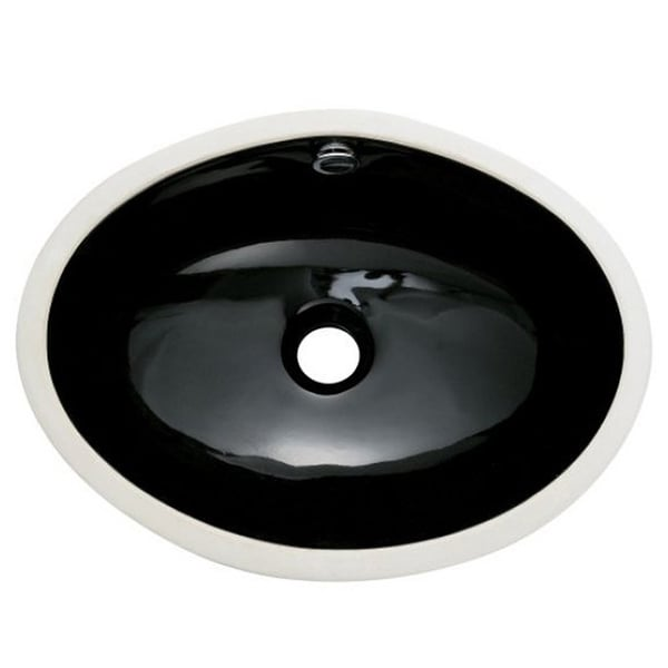 Undermount Black Bathroom Sink