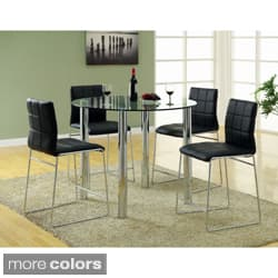 Furniture of America Donnabella 5-piece High-gloss Counter Height Dining Set|https://ak1.ostkcdn.com/images/products/6521226/Furniture-of-America-Donnabella-5-piece-High-gloss-Counter-Height-Dining-Set-P14107080a.jpg?impolicy=medium