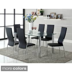 Furniture of America Arden 7-piece Contemporary Dining Set|https://ak1.ostkcdn.com/images/products/6521228/Furniture-of-America-Arden-7-piece-Contemporary-Dining-Set-P14107084d.jpg?impolicy=medium