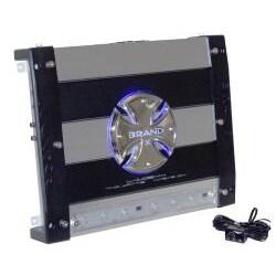 """BrandX 4Ch 740 Watts Amplifier W/ 2 x 6.5"""" Speakers & 2 x 6""""X9"""" speakers Package"""