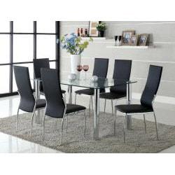 Porch & Den Bushwick Jefferson Leatherette Dining Chairs (Set of 2) - Thumbnail 2