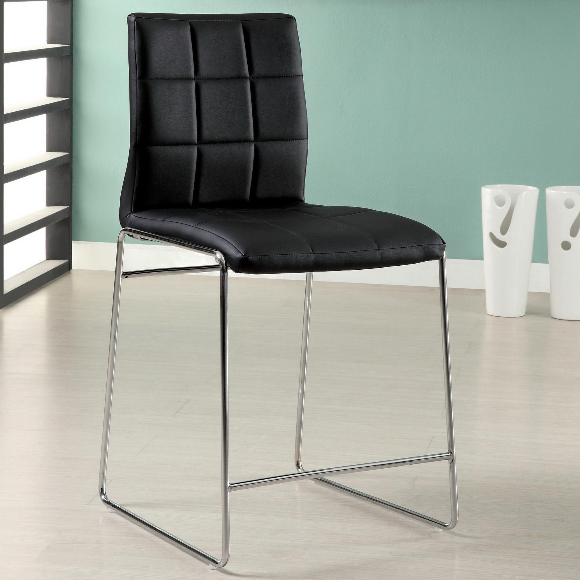 Attirant Furniture Of America Ashford Leatherette 24 50 Inch