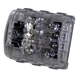 BrandX 8/4/0 AWG In-Line Quad MIDI Fuse Holder
