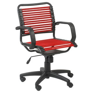 Bungie Flat Mid Back Red/ Graphite Black Office Chair