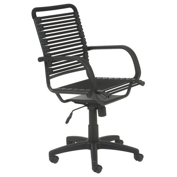Bungie Flat High Back Black/ Graphite Black Office Chair