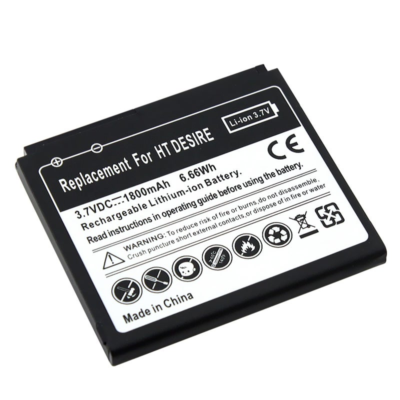 Compatible Li-ion Battery for HTC Desire - Thumbnail 0