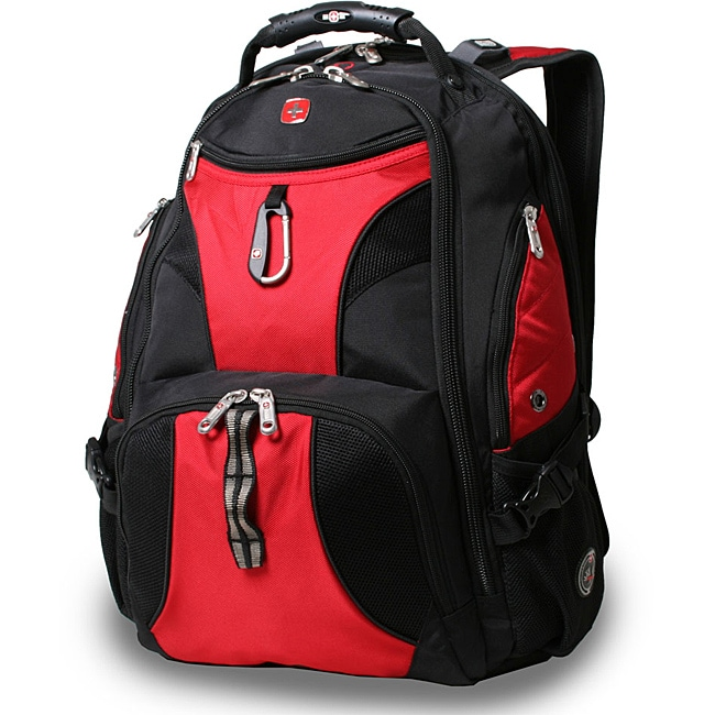 Wenger Swiss Gear Red ScanSmart 17.5-inch Laptop Backpack - Free ...
