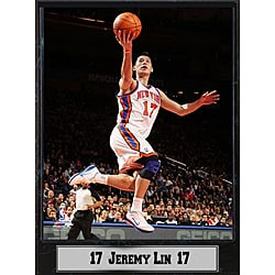 New York Knicks Jeremy Lin Basketball Photo Plaque