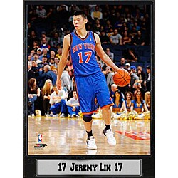 New York Knicks Jeremy Lin Photo Plaque