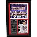 Super Bowl XLVI Champion New York Giants Eli Manning Framed Stat Photo