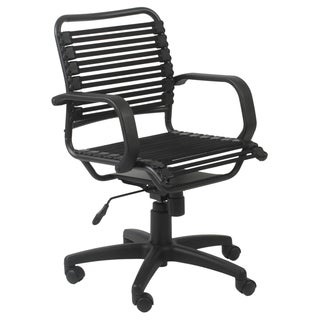 Graphite Black Bungie Flat Back Office Chair