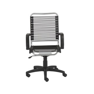 Black/ Aluminum Steel Office Chair