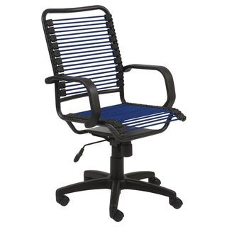Bon Blue/ Graphite Black Steel Office Chair