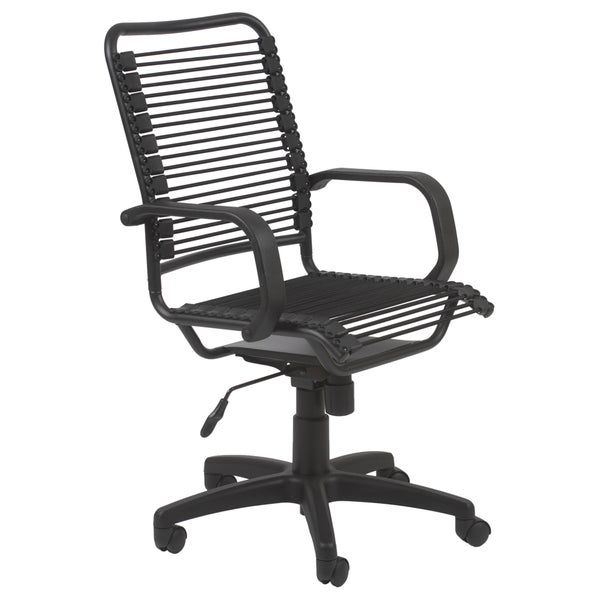 Graphite Black Bungie Cord Steel Office Chair Free