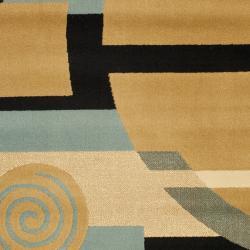 Safavieh Porcello Modern Deco Blue/ Multi Rug (2'7 x 5') - Thumbnail 2