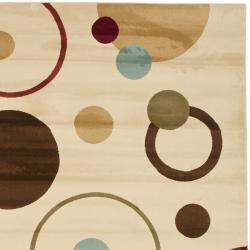 Safavieh Porcello Modern Cosmos Ivory/ Multi Rug (6'7 x 9'6) - Thumbnail 1
