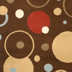 Safavieh Porcello Modern Cosmos Brown/ Multi Rug (2' x 3'7) - Thumbnail 2