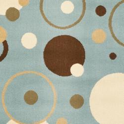 Safavieh Porcello Modern Cosmos Blue Rug (2'7 x 5')