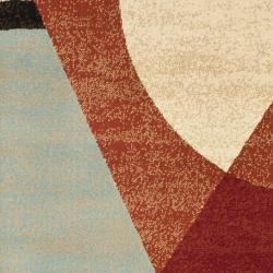 Safavieh Porcello Modern Abstract Multicolored Rug (2' x 3'7) - Thumbnail 2