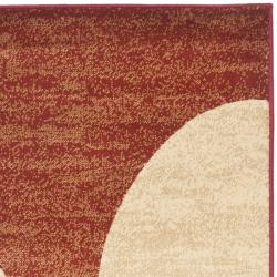 Safavieh Porcello Modern Abstract Multicolored Rug (2'4 x 9') - Thumbnail 1