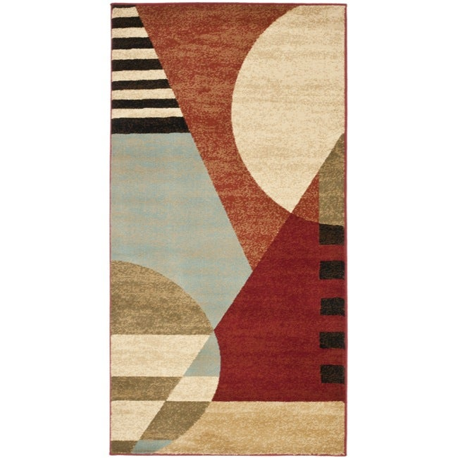 Safavieh Porcello Modern Abstract Multicolored Rug (2'7 x 5')