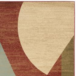 Safavieh Porcello Modern Abstract Multicolored Rug (5'3 x 7'7) - Thumbnail 1