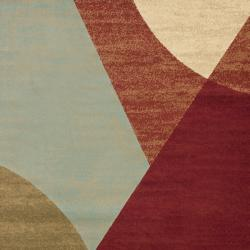 Safavieh Porcello Modern Abstract Multicolored Rug (5'3 x 7'7) - Thumbnail 2