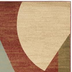 Safavieh Porcello Modern Abstract Multicolored Rug (8' x 11' 2)