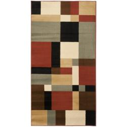 Safavieh Porcello Modern Abstract Multicolored Rug (2' x 3' 7)