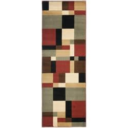 Safavieh Porcello Modern Abstract Multicolored Rug (2'4 x 6'7)