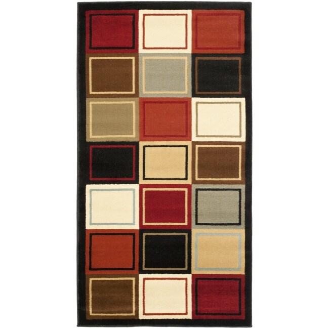 Safavieh Porcello Modern Abstract Multicolored Rug (2' x 3'7)